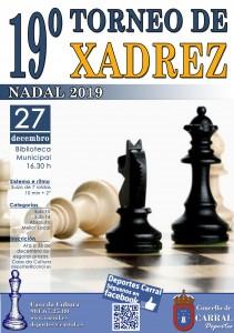 Cartel Torneo Xadrez_Nadal 2019