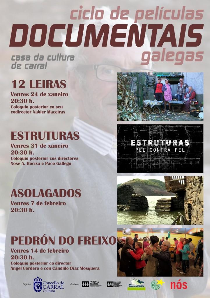 I Ciclo de Películas Documentais Galegas