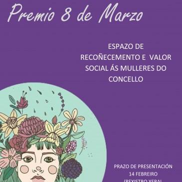 SETE MULLERES VINCULADAS A CARRAL DISPÚTANSE O PREMIO 8 DE MARZO