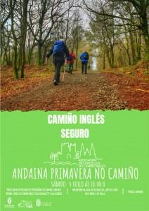 Cartel Carral Andaina Primavera no Camiño.