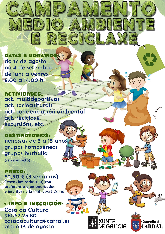 Campamento Medio Ambiente e reciclaxe