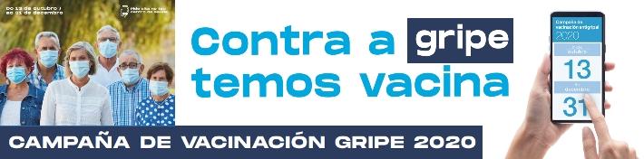 CAMPAÑA DE VACINACIÓN GRIPE 2020 INICIA O 13 OUTUBRO