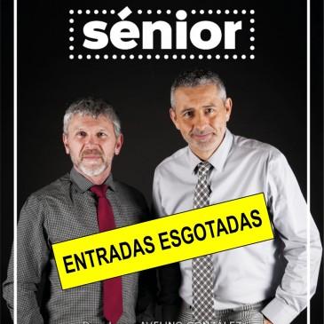 """ESGOTADAS AS ENTRADAS PARA A FUNCIÓN TEATRAL """"SÉNIOR"""""""