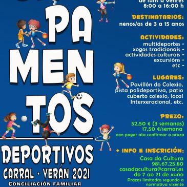 CAMPAMENTOS DE VERÁN